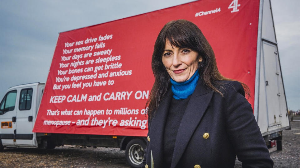 Davina McCall fronted the documentary 'Sex, Myths and the Menopause' in May 2021. (Channel 4)