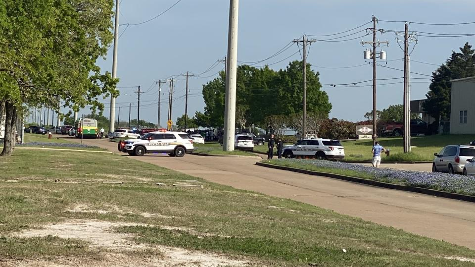 Oe person has been confirmed dead in the shooting. Source: KBTX-TV