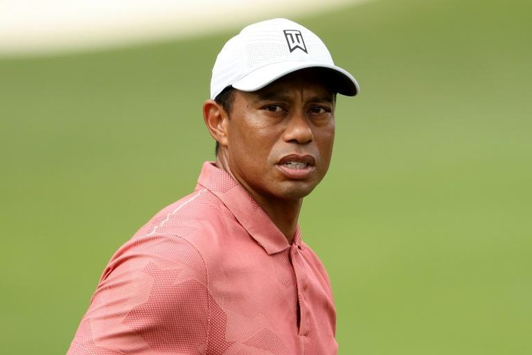 Defending champion Tiger Woods practices Tuesday ahead of Thursday's start of the 84th Masters