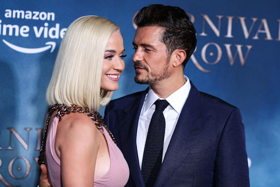 Katy Perry and Orlando Bloom (Photo: SIPA USA/PA Images)