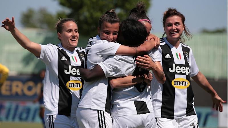 Aluko Scores As Juventus Women And Men Both Clinch Serie A Title On
