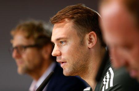 Soccer Football - FC Bayern Munich Conference - Munich, Germany - September 11, 2017 Bayern Munich's Manuel Neuer during the press conference REUTERS/Michaela Rehle/Files
