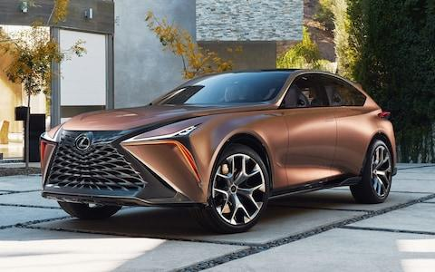 Lexus LF-1 Limitless luxury SUV concept - unveiled Detroit auto show Jan 2018