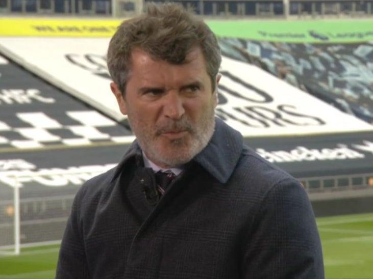 <p>Roy Keane remains unimpressed by Spurs' fallibility</p> (Sky Sports)