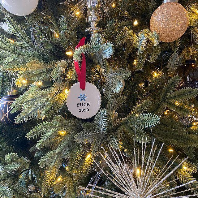 """<p>""""And the Best Tree Ornament Award goes to...""""</p><p><a href=""""https://www.instagram.com/p/CI6t25Fg0mA/"""" rel=""""nofollow noopener"""" target=""""_blank"""" data-ylk=""""slk:See the original post on Instagram"""" class=""""link rapid-noclick-resp"""">See the original post on Instagram</a></p>"""