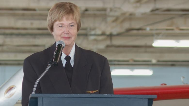 'Nothing holding us back': Women in aviation pass the torch