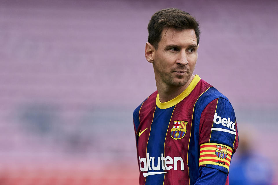 Lionel Messi and Barcelona have reached an agreement on a new deal. (Pedro Salado/Quality Sport Images/Getty Images)