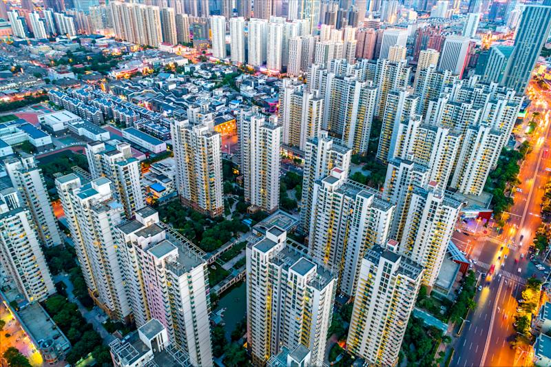 Buildings in Beijing, China. (Source: Getty)