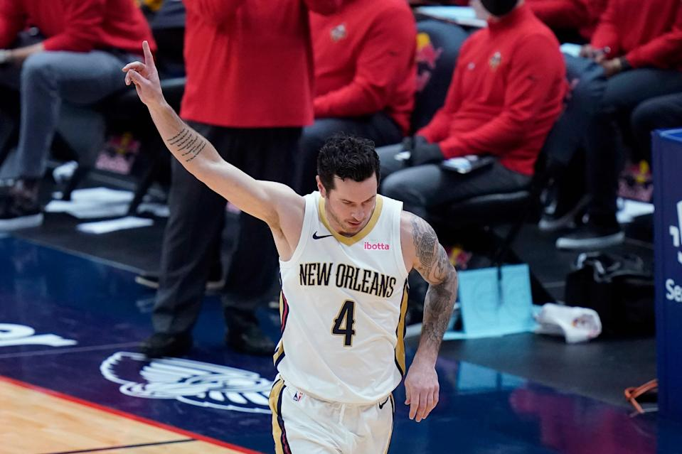 J.J. Redick said he asked the Pelicans for a trade in November and when he wasn't moved in February, his expectation was that he would either get traded to a team in the Northeast or reach a buyout agreement.