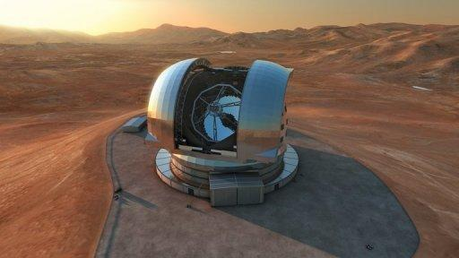 The telescope will be based on Cerro Armazones, where the arid conditions and high altitude benefit stargazers