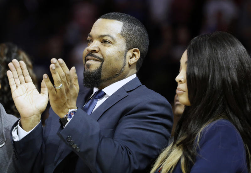 Big3 Basketball League founder and noted Raiders fan Ice Cube apparently still hasn't forgotten the