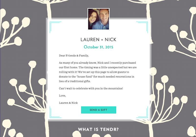 Wedding Gift Registry Asking For Money : The New, Non-Awkward Way to Ask for Cash Wedding Gifts