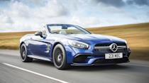 """<p><strong>Mercedes-AMG SL 63</strong></p> <p>The Mercedes SL lineup loses its <a href=""""https://www.autoblog.com/2019/11/25/mercedes-amg-sl-63-discontinued/"""" data-ylk=""""slk:halo AMG SL 63"""" class=""""link rapid-noclick-resp"""">halo AMG SL 63</a> variant after 2019, which means the SL 450 and SL 550 will be the only two available in 2020. Mercedes has never sold this SL in high quantities, but it's sad to see this super quick AMG model go away. As things stand today, Mercedes has the <a href=""""https://www.autoblog.com/2017/12/07/2018-mercedes-benz-s-class-coupe-cabriolet-review/"""" data-ylk=""""slk:S 63 Cabriolet"""" class=""""link rapid-noclick-resp"""">S 63 Cabriolet</a> and <a href=""""https://www.autoblog.com/2017/04/04/2018-mercedes-amg-gt-c-roadster-first-drive-review/"""" data-ylk=""""slk:AMG GT Roadster"""" class=""""link rapid-noclick-resp"""">AMG GT Roadster</a> available for anyone wanting a fast droptop. If one of those cars don't fill the void for you … maybe drive them again. They're truly fantastic in their own separate ways.</p>"""