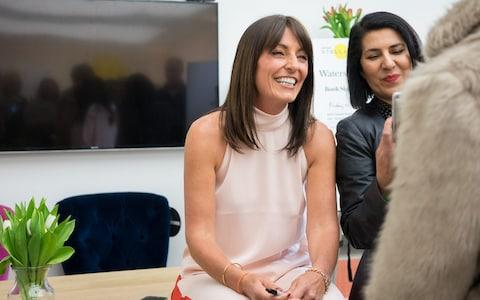 Davina McCall chatting to readers after being interviewed live on stage at Stella Live 2019 - Credit: Daniel Hambury