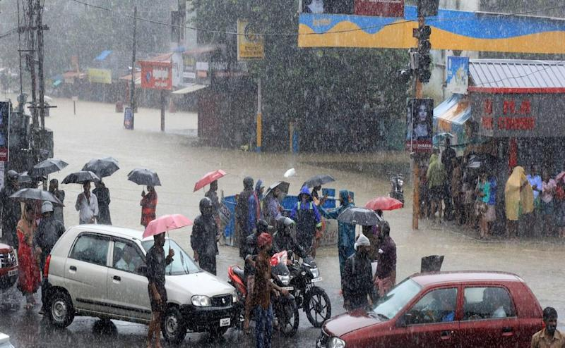 Heavy rains continue in Kerala as the India Meteorological Department has forecast more rain. PTI
