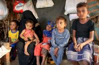 Yemeni boy fights malnutrition as hunger stalks nation's children