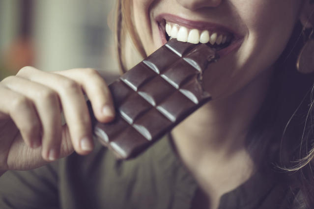 Drinking wine and eating chocolate could help you live longer [Photo: Getty]