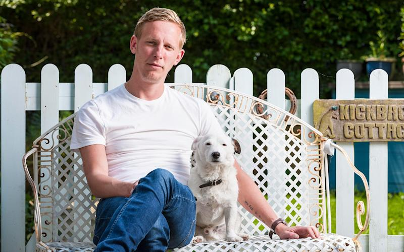 Laurence Fox knows Skiathos better than most - Andrew Crowley