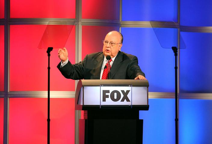 Donald Trump lauded alleged Fox News sexual harasser Roger Ailes he has lashed out at the network in an angry rant. (Photo by Frederick M. Brown/Getty Images)