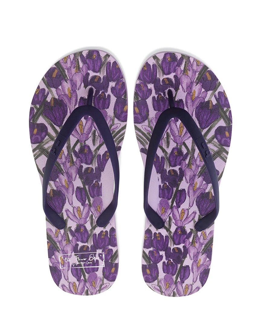 """<p><em>JC x Tidal Flip Flops, $40</em></p><p><a class=""""link rapid-noclick-resp"""" href=""""https://www.amazon.com/dp/B091FX81TX/ref=cm_sw_r_cp_api_glt_fabc_Q43MQEBFE60HSXKYRCQF?tag=syn-yahoo-20&ascsubtag=%5Bartid%7C10056.g.36320745%5Bsrc%7Cyahoo-us"""" rel=""""nofollow noopener"""" target=""""_blank"""" data-ylk=""""slk:SHOP NOW"""">SHOP NOW</a></p><p>Jonathan Cohen's signature brand of femininity goes green, metaphorically, via a collaboration with Tidal, a brand known for its ethically produced and sourced flip-flops.</p>"""