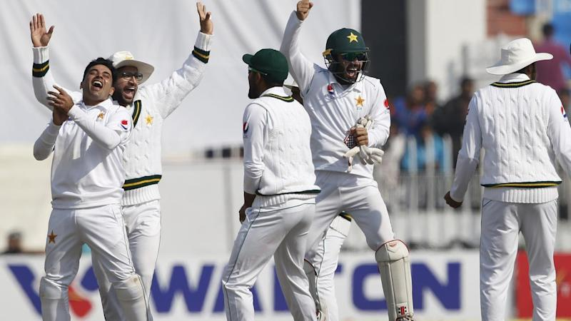 Pakistan have crushed Bangladesh by an innings and 44 runs in the first Test in Rawalpindi