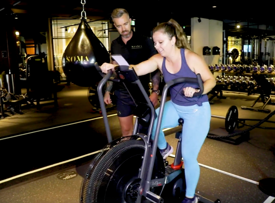 rebel wilson workout at soma collection sydney