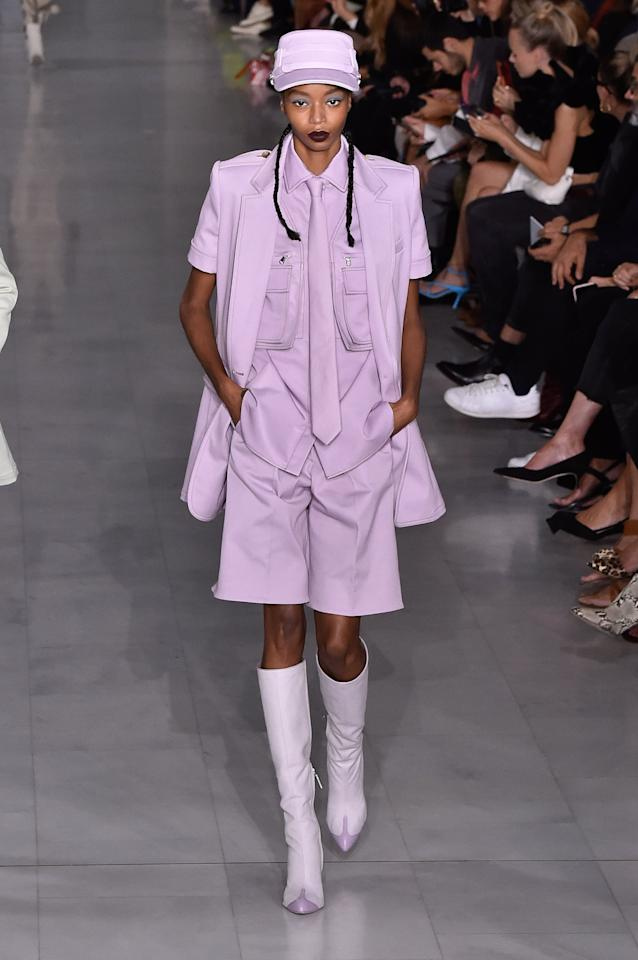<p>Kyla Ramsey's career got a fast start when she walked for Louis Vuitton and had the opening spot at Prada's Resort 2020 show in Manhattan. She's already walked for brands such as Chanel, Versace, and Marc Jacobs.</p>