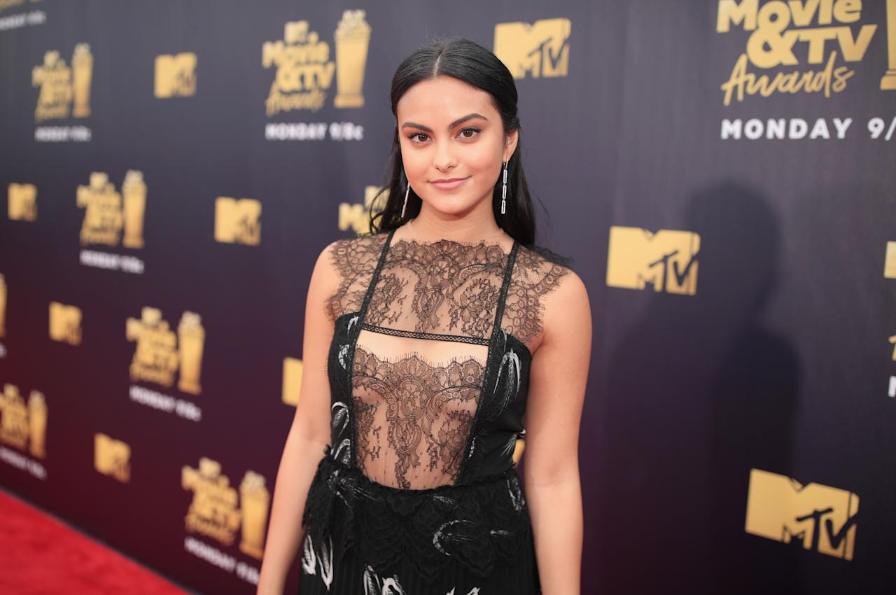 <p>Cutouts, sheer skirts, and crop tops galore took prominence on the MTV Movie & TV Awards red carpet. Here, the 10 sexiest, nakedest looks from the big night.</p>