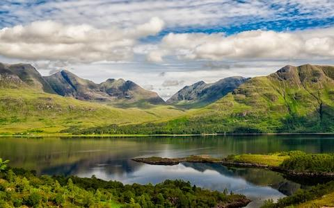 the Torridon Mountains - Credit: Getty