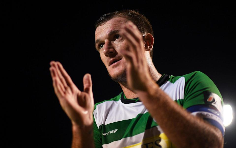 Yeovil Town captain Lee Collins dead, aged 32 - GETTY IMAGES