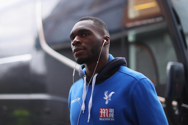 Going nowhere: Benteke has been warned he won't be allowed to force his way out of Palace: Ian MacNicol/Getty Images