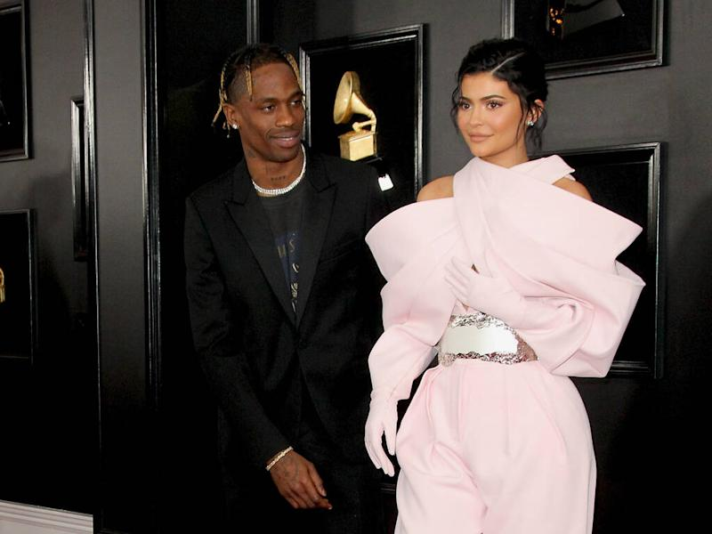 Kylie Jenner and Travis Scott reunite for daughter Stormi's extravagant birthday party