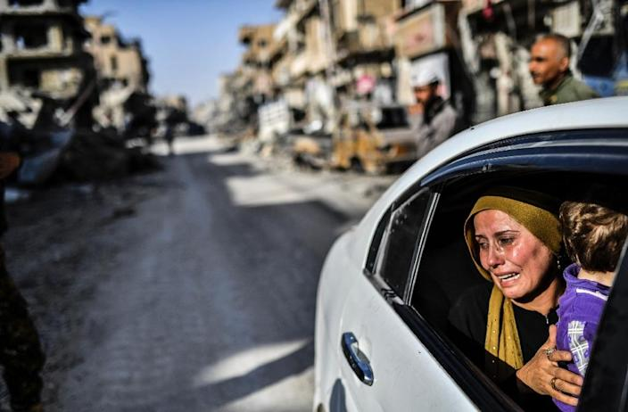 Syria's war has killed more than 340,000 people since 2011 and left much of the country in ruin (AFP Photo/BULENT KILIC)