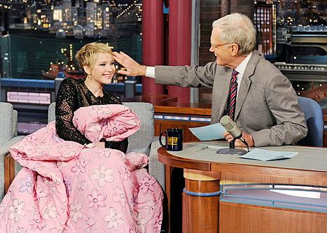 """Jennifer Lawrence Hospitalized With """"Severe Stomach Pain,"""" Shares Grisly Details With David Letterman"""