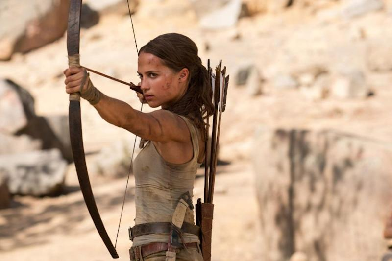 The Swedish actress takes over from Angelina Jolie as the tomb raiding hero. Source: Supplied