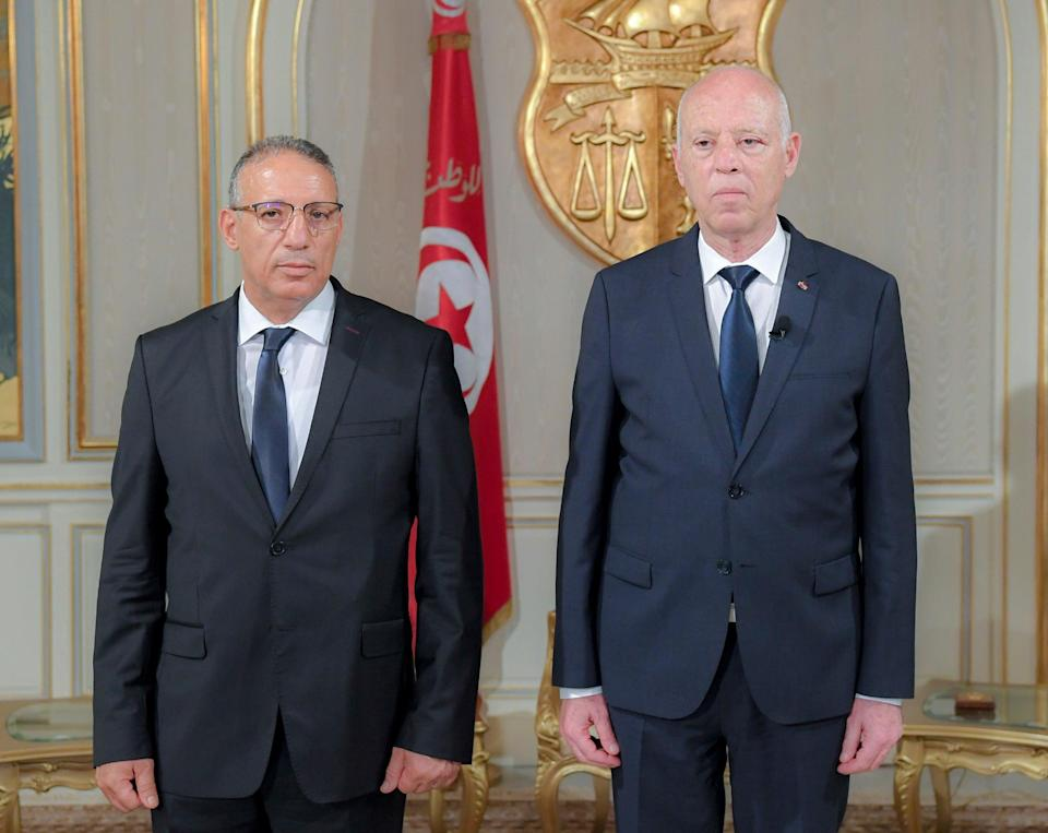Tunisia New Inerior Minister (Copyright 2021 The Associated Press. All rights reserved)