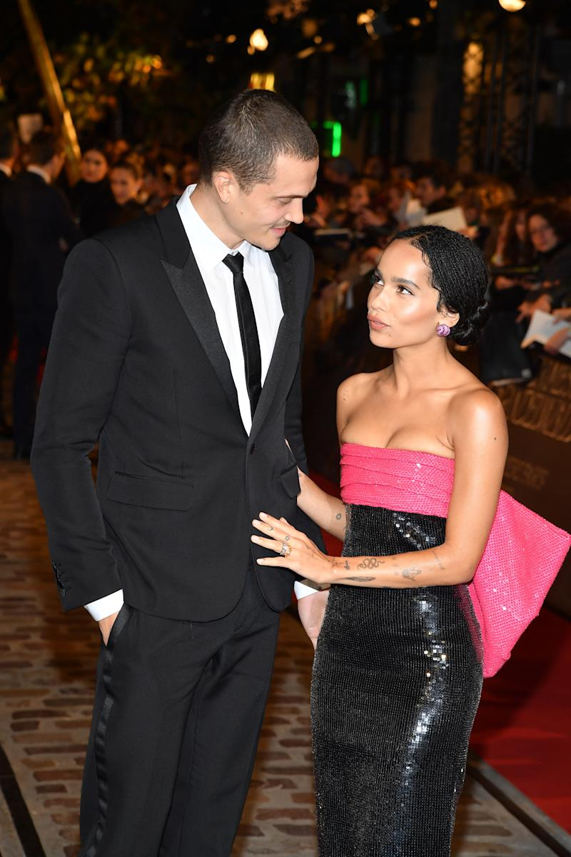 ICYMI, Zoë Kravitz Is Engaged—and She Just Showed Off Her Ring