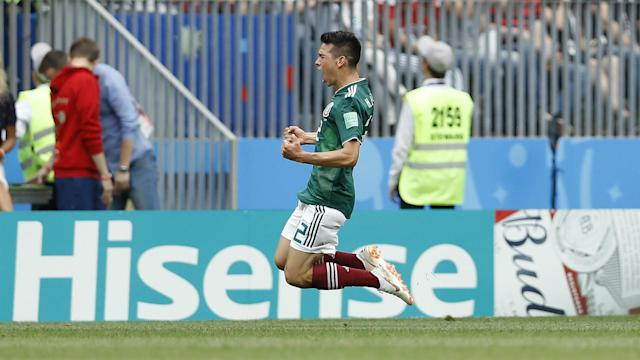 World champions Germany lost their opening game at Russia 2018, with Hirving Lozano's winner causing a small earthquake in Mexico.