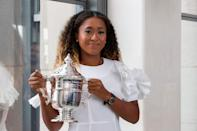 <p>Osaka won her first Grand Slam at the US Open on September 8, 2018, when she was just 20 years old. She defeated Serena Williams in the final, winning in straight sets with a score of 6-2, 6-4. She went on to win the Australian Open on January 26, 2019, against Petra Kvitová, making her the champion of two Grand Slam tournaments in a row. The following year, she won the 2020 US Open in a final match against Victoria Azarenka. Let's hope she's popped some Champagne since then.</p>