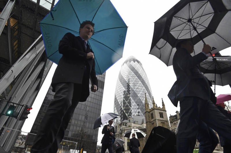 Roughly a third of business done in the City is linked to the EU: Toby Melville/Reuters