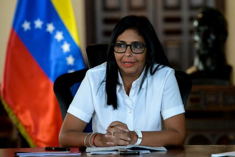 Venezuelan Vice President Delcy Rodriguez hit out at the UN, EU and Colombia