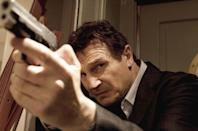 <p>Liam Neeson became universally hailed as the toughest guy in Hollywood when he portrayed a renegade father fighting to find his daughter in <em>Taken, </em>which was the year's biggest action movie. </p>