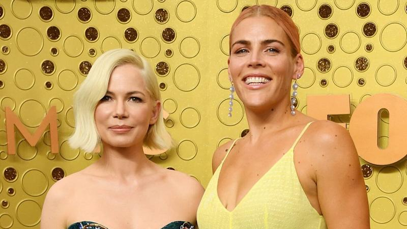 Michelle Williams and Busy Philipps Are Having a Girls' Night Out at 2019 Emmys