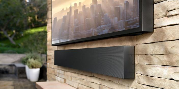 """<p>Outdoor TVs are specifically designed to provide great picture quality, no matter what the weather brings. In addition to giving you the ability to binge your favorite shows in bright sunlight, these products are also built to withstand temperature changes and even rain and snow. </p><p>Unlike the temporary viewing setup a <a href=""""https://www.bestproducts.com/tech/gadgets/g3416/best-portable-mini-small-projectors/"""" rel=""""nofollow noopener"""" target=""""_blank"""" data-ylk=""""slk:portable projector"""" class=""""link rapid-noclick-resp"""">portable projector</a> and <a href=""""https://www.bestproducts.com/tech/electronics/g2380/best-video-projector-screens/?slide=5"""" rel=""""nofollow noopener"""" target=""""_blank"""" data-ylk=""""slk:screen"""" class=""""link rapid-noclick-resp"""">screen</a> can provide, outdoor TVs are a reliable, permanent fixture in your backyard or patio. Luckily, there are plenty of solid options available today.<br></p><h4 class=""""body-h4"""">The Best Outdoor TVs</h4><ul><li><strong>Our Top Pick:</strong> <a href=""""https://www.amazon.com/dp/B07H45Y2LL/?tag=syn-yahoo-20&ascsubtag=%5Bartid%7C2089.g.1101%5Bsrc%7Cyahoo-us"""" rel=""""nofollow noopener"""" target=""""_blank"""" data-ylk=""""slk:SunBriteTV Veranda Series Outdoor TV (55-inch)"""" class=""""link rapid-noclick-resp"""">SunBriteTV Veranda Series Outdoor TV (55-inch)</a></li><li><strong>Runner-Up:</strong> <a href=""""https://www.amazon.com/dp/B081S972VP?tag=syn-yahoo-20&ascsubtag=%5Bartid%7C2089.g.1101%5Bsrc%7Cyahoo-us"""" rel=""""nofollow noopener"""" target=""""_blank"""" data-ylk=""""slk:Furrion Aurora 4K Outdoor TV (49-inch)"""" class=""""link rapid-noclick-resp"""">Furrion Aurora 4K Outdoor TV (49-inch)</a><br></li><li><strong>Pricey But Perfect:</strong> <a href=""""https://www.amazon.com/dp/B089B5X28G?tag=syn-yahoo-20&ascsubtag=%5Bartid%7C2089.g.1101%5Bsrc%7Cyahoo-us"""" rel=""""nofollow noopener"""" target=""""_blank"""" data-ylk=""""slk:Samsung The Terrace Smart Outdoor TV (55-inch)"""" class=""""link rapid-noclick-resp"""">Samsung The Terrace Smart Outdoor TV (55-inch)</a> </li><li><strong>The Big-Screen Pic"""