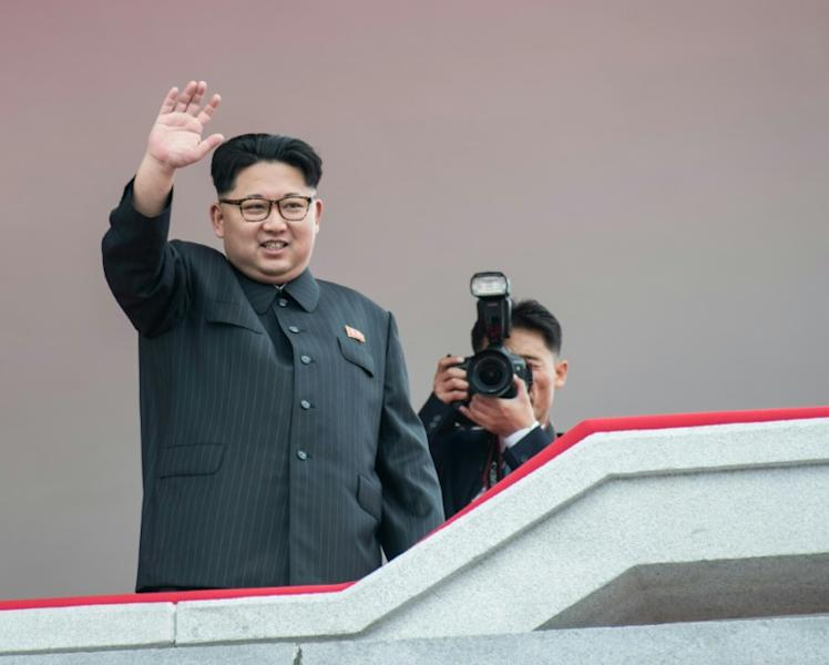 """North Korean leader Kim Jong-Un has put his military on a high state of alert to """"open fire to annihilate the enemies"""""""