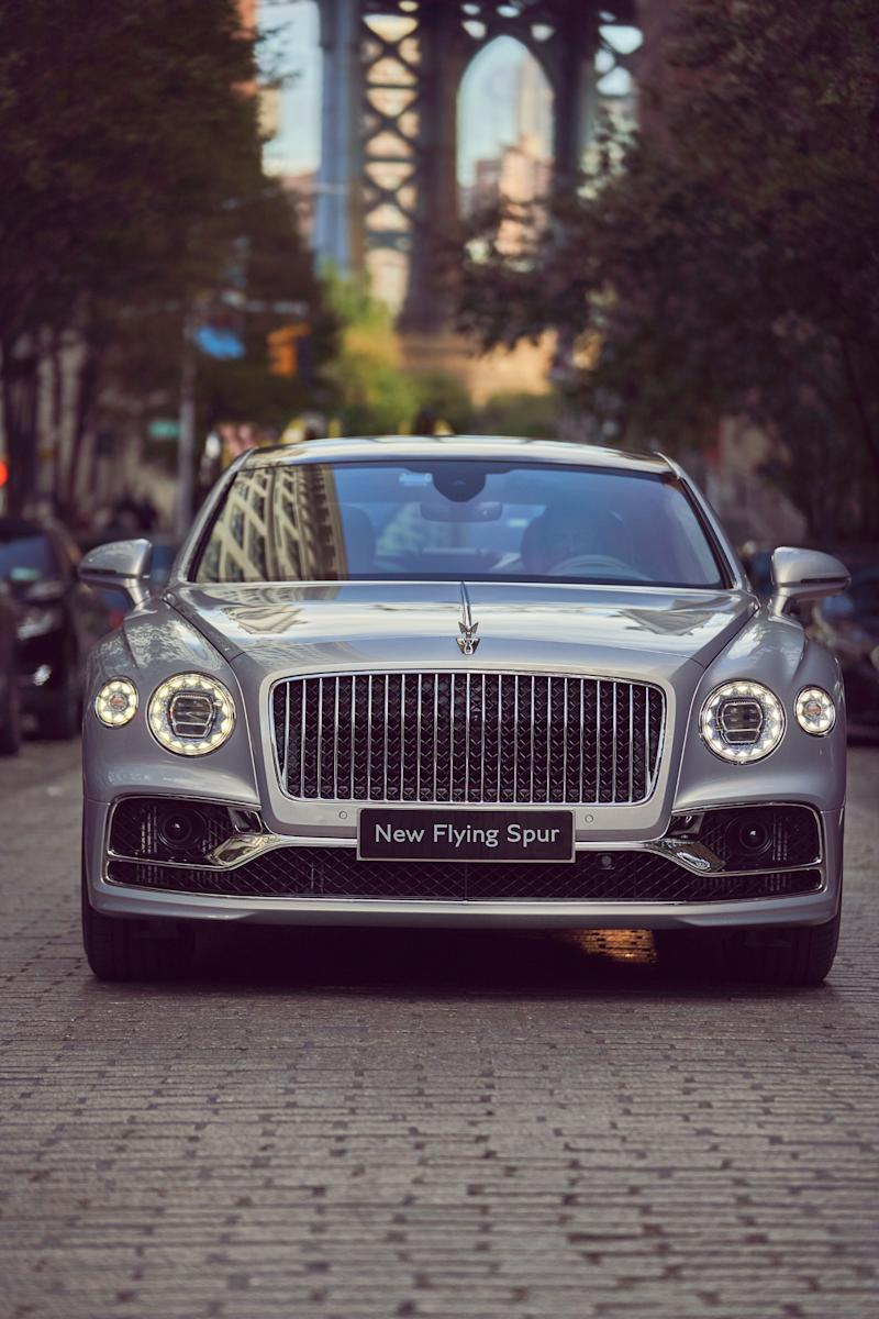 The Bentley Flying Spur, which goes on sale during the second quarter of 2020, made its New York debut this weekend.