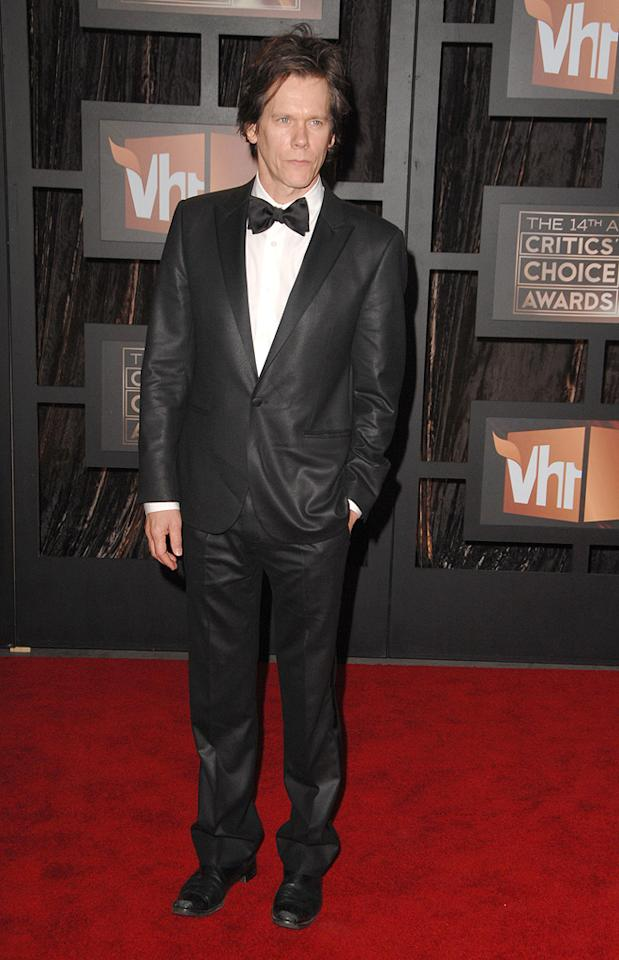 "<a href=""http://movies.yahoo.com/movie/contributor/1800019403"">Kevin Bacon</a> at the 14th Annual Critics' Choice Awards in Santa Monica - 01/08/2009"