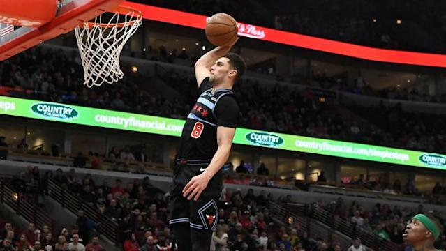 Zach LaVine rated as second-best dunker in league by NBA 2K20