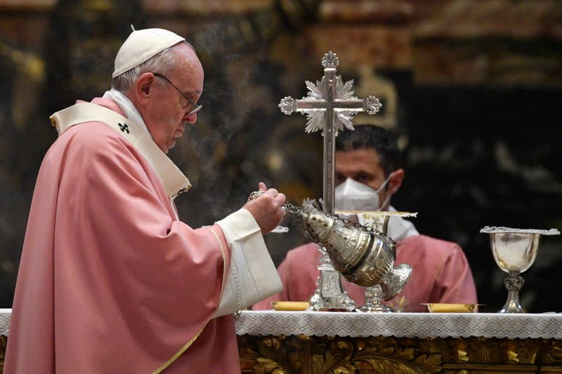 500 years of Christianity in the Philippines mass at the Vatican