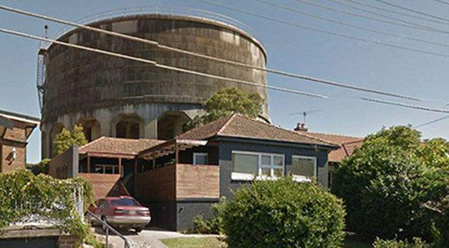 The water tower visible behind the Penhurst property. Picture: Google